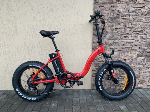 SportBike E-Bike FatFolding 20 red - 1